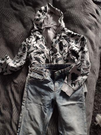 Spodnie dżinsowe+ Gratis bluza