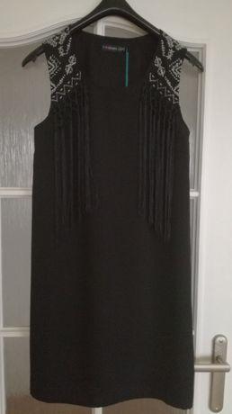 NOWA!!! Sukienka czarna Even&Odd rozm. S/36.