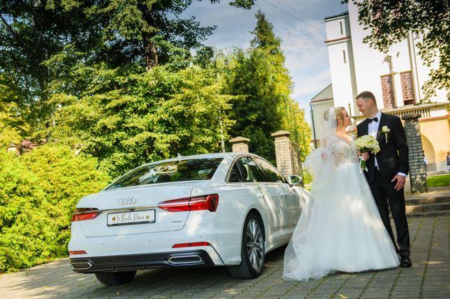 Audi A6 samochód limuzyna auto do ślubu *JEDYNE NA PODKARPACIU*