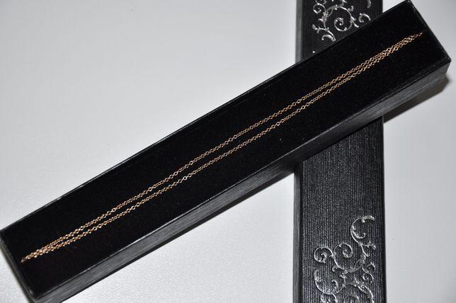 ZŁOTO złoty łańcuszek waga 2,25g pr. 585 IDEALNY PREZENT