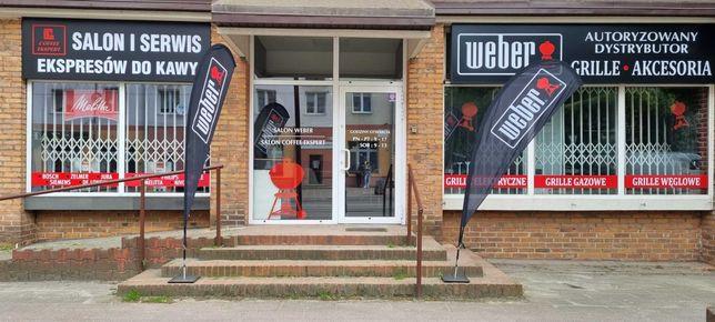 Autoryzowany dystrybutor salon Weber grill gazowy węglowy elektryczny