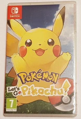 Gra Nintendo Switch Pokemon Let's Go Pikachu i pikaczu ewentu zamiana