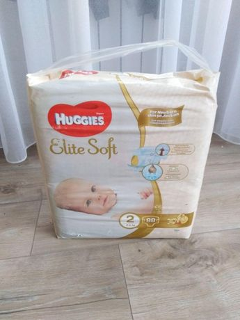 "Подгузники Huggies ""Elite Soft"" 2 (4-6 кг, 88 шт)"