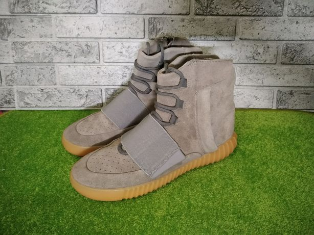кроссовки хайтопы Adidas Yeezy boost 750