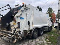 zabudowa śmieciarki  JOAB anaconda 21m3A w całości na części