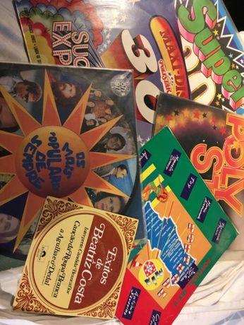 Colecção lote 6 discos vinil 5 LP + Single, Cândida Branca Flor