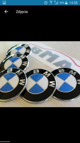 Emblematy BMW na maskę oraz klapę bagażnika .