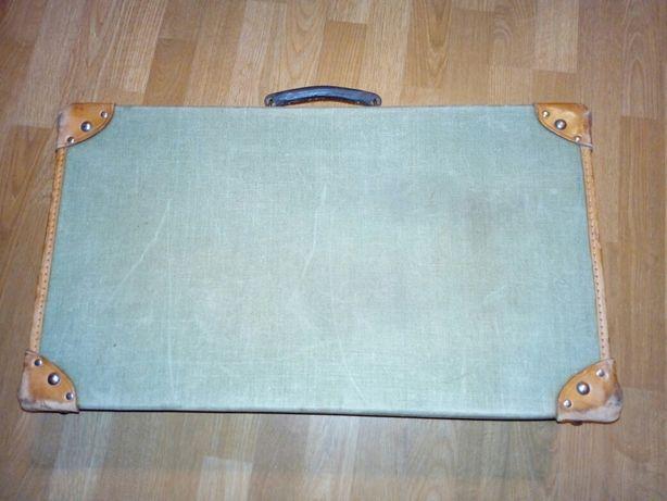 Stara walizka wojskowa angielska