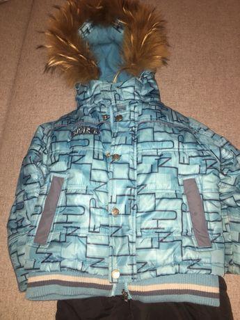 Костюм зимний куртка Kiko 98  104