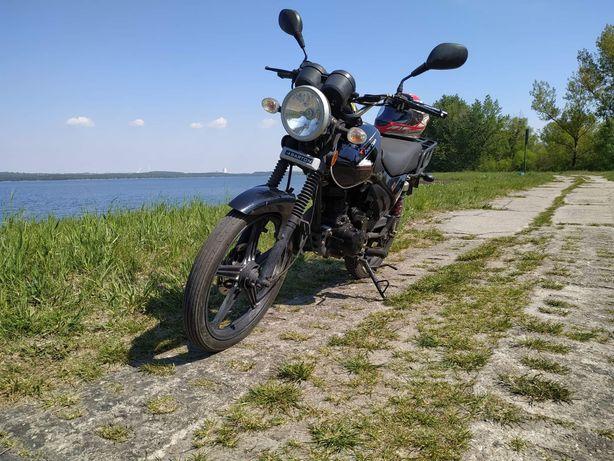 Motocykl Barton 125