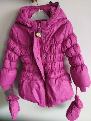 Zimowa kurtka dziewczęca Cocodrillo 92