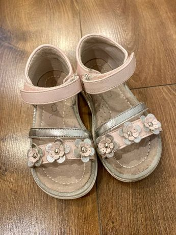 Кожаные босоножки / шкіряні сандалі 25 размер