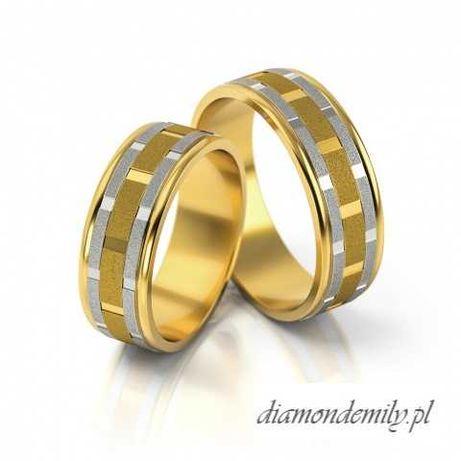 Obrączki ślubne - złoto - tanio - Przeźmierowo