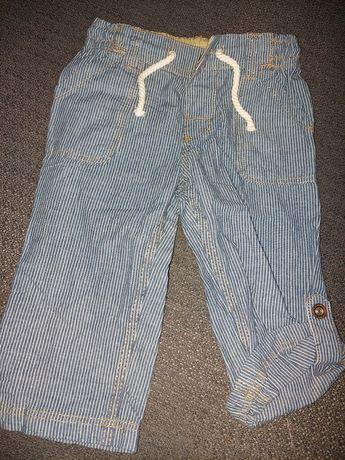 Spodnie chłopięce rozmiar 80 firmy H&M