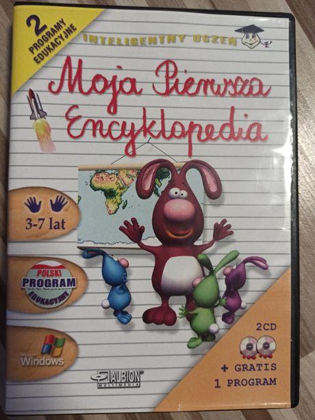 Moja pierwsza encyklopedia. Wydanie dwupłytowe dla najmłodszych dzieci