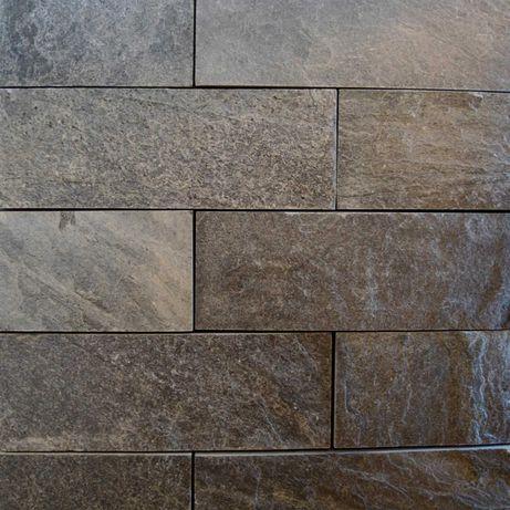 Kamień Dekoracyjny Naturalny Płytki Łupek Elewacyjny 30x10 GREY