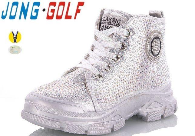 Шикарные демисезонные ботинки на девочку Jong.Golf, р.34 - 21,8 см