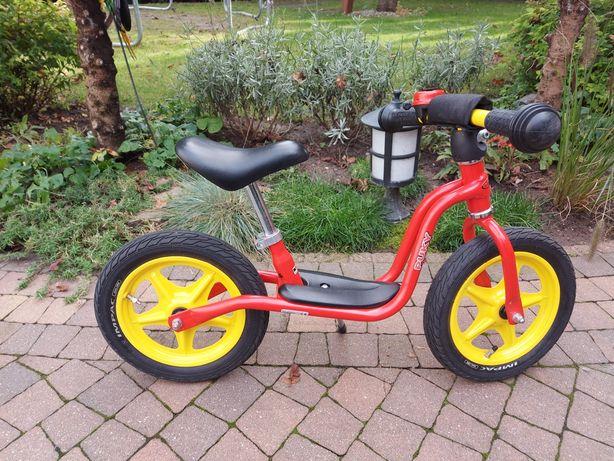 Rowerek biegowy PUKY + koszyk + dzwonek