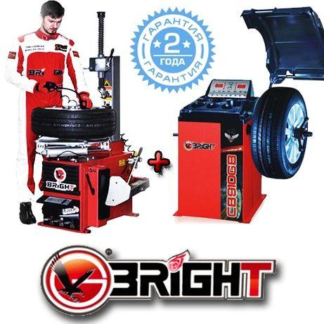 Комплект шиномонтажного оборудования BRIGHT LC810+CB910GBS