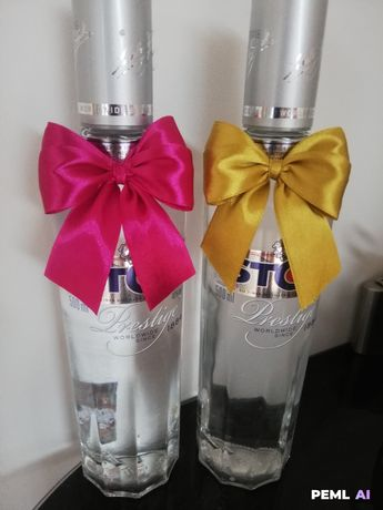 Zawieszki na alkohol kokardy do dekoracji kotyliony kokardki