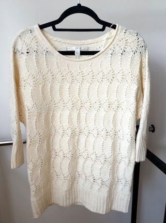 Kremowy sweter Lauren rozmiar S M