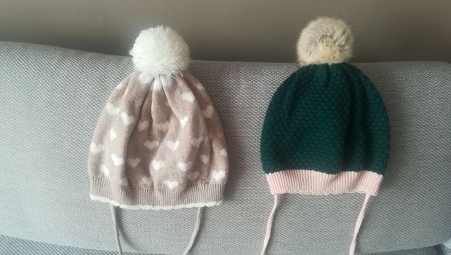 H&m j. Nowe czapki dla dziewczynki rozm. Od 74 do 92