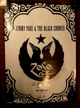 2 plakaty The Black Crowes Jimmy Page