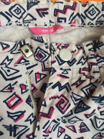 Новые джинсы для девочки 104