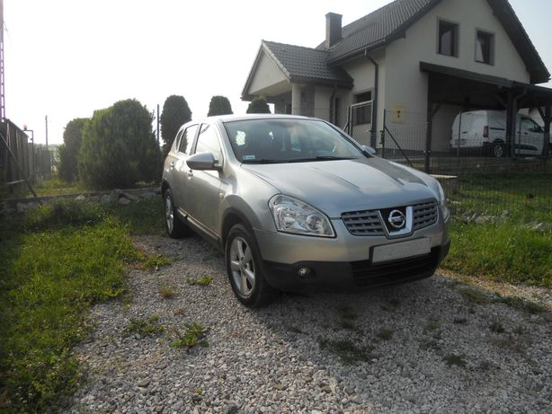 Nissan Qashqai 2009r 1.6 B tylko 153 tyś km