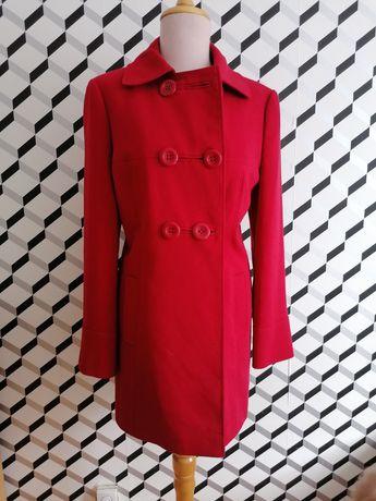 Płaszcz kurtka czerwona r 42