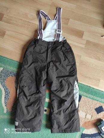 Zimowe,narciarskie spodnie h&m 4-5 lat 110