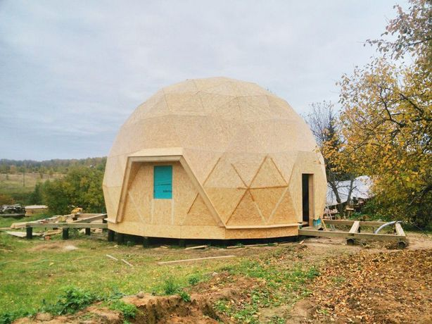 Каркас купольного дома
