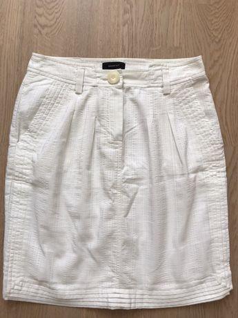 Женская белая юбка MANGO
