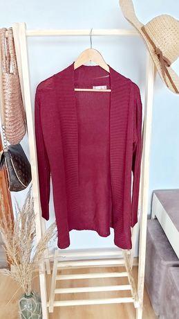 Kardigan dłuższy  sweter  jesień  /zima