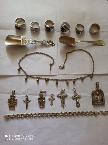 Продам ювелирные изделия из серебра