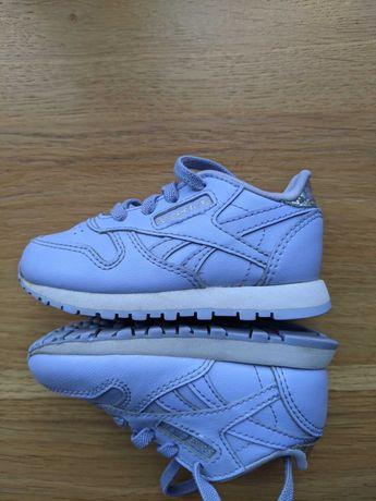Дитячі кросівки Reebok Classic Leather Blue, 19,5 р.