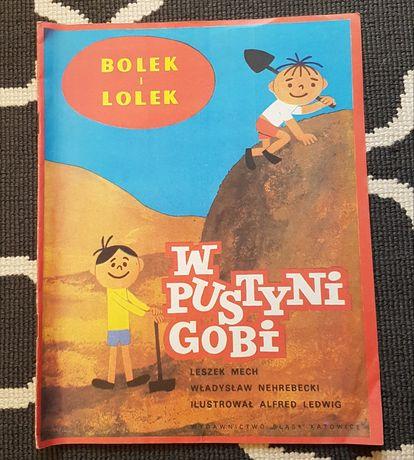 Bolek i Lolek w pustyni Gobi