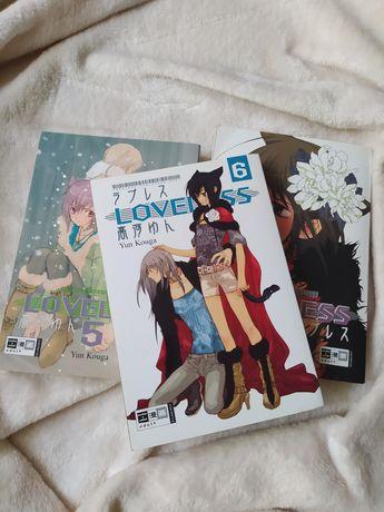 Mangi/manga loveless w języku niemieckim
