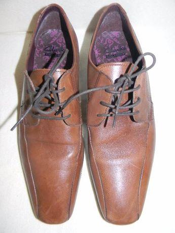 Мужские кожаные туфли Clarks р. UK 8,41-42 дл.ст 29 см