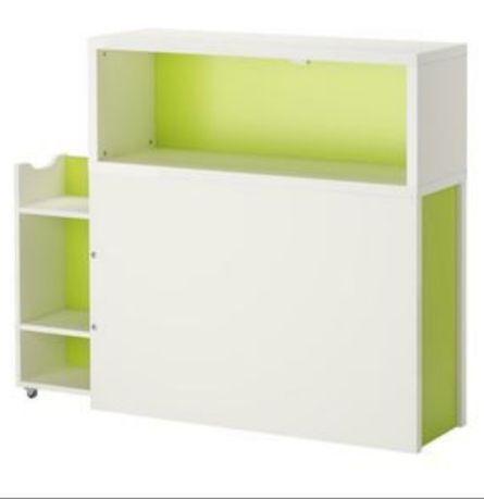 IKEA Zagłówek łóżka Szafka FLAXA