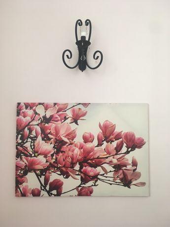 Obraz duży Kwitnaca magnolia 100x70