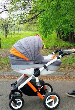 Универсальная коляска adamex 2 в 1.