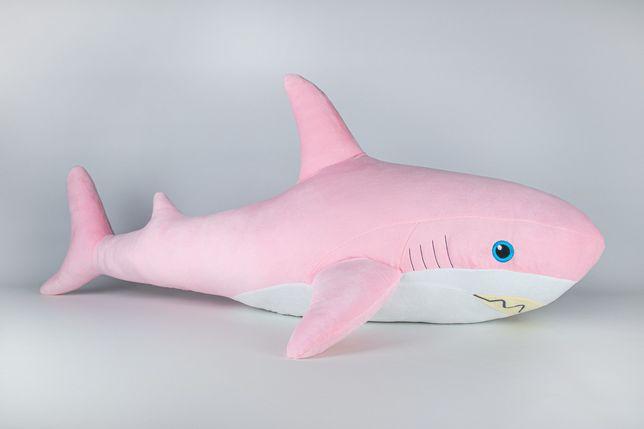 Мягкая игрушка Kidsqo Акула 107см Розовая