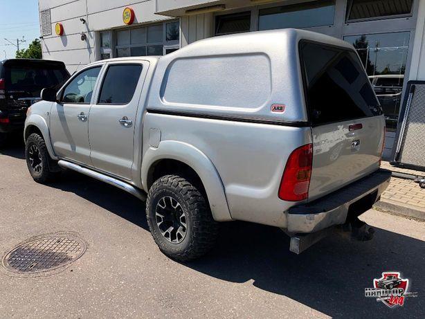 Zabudowa ARB Toyota Hilux bez szyb podwyższana hardtop canopy