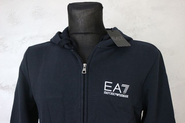 Bluza męska Emporio Armani EA7 Granat Promocja