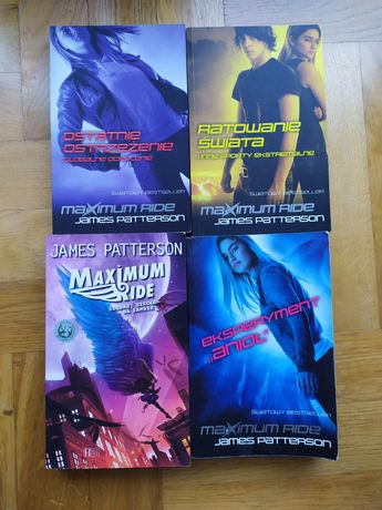 Książki z cyklu Maximum Ride (James Patterson)