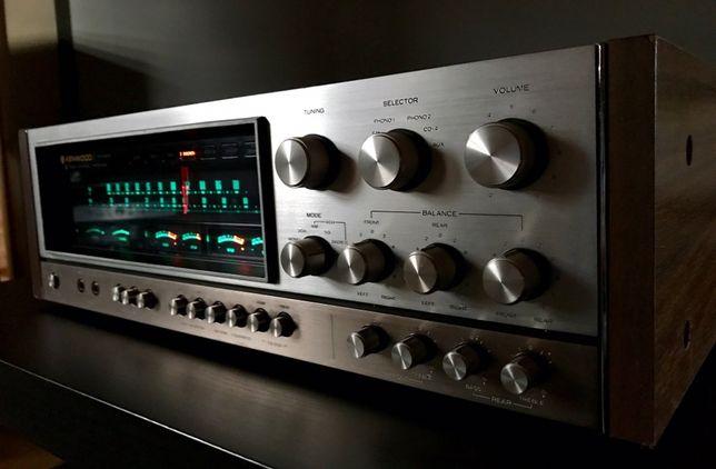 Kenwood KR-9340 Quadro MONSTER RECEIVER prawdziwe vintage Hi-Fi