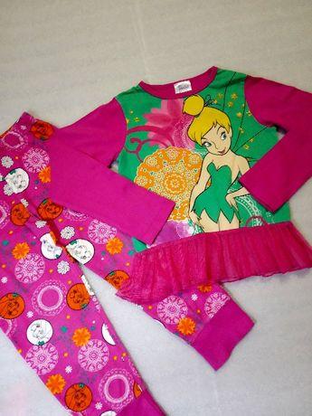 Костюм реглан кофта туника лосины штаны пижама девочке 4-5 лет