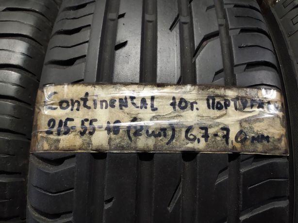 666 Комплект шин 7мм R18 215/55 Continental