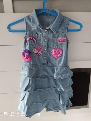 Guess sukienka dla dziewczynki